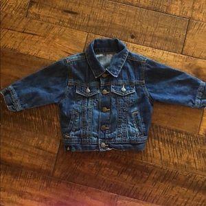 Gap size 12-18 month jean jacket